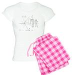 Pioneer Plaque Women's Light Pajamas