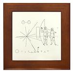 Pioneer Plaque Framed Tile