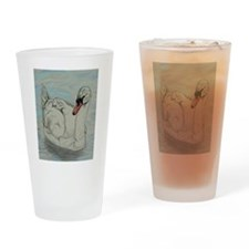 Mute Swan Drinking Glass
