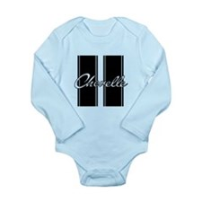 Racing Stripes 2 Long Sleeve Infant Bodysuit