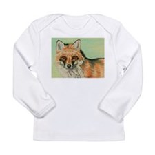 Red Fox headstudy Long Sleeve Infant T-Shirt