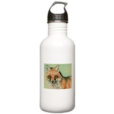 Red Fox headstudy Water Bottle