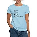 Eat pray love darts Women's Light T-Shirt