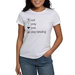 Eat pray love darts Women's T-Shirt