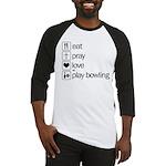 Eat pray love darts Baseball Jersey