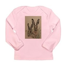 Two Hares Long Sleeve Infant T-Shirt