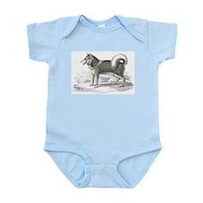 Eskimo Dog Infant Creeper