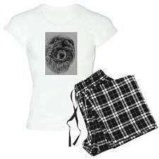 Chow Chow Dog Headstody - Black Pajamas