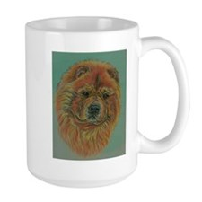 Red Chow Chow Dog headstudy. Coffee Mug