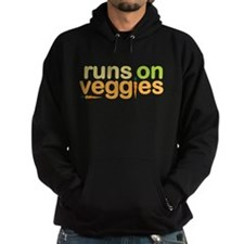 Runs on Veggies Hoodie