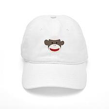 Sock Monkey Face Hat