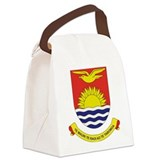 Kiribati COA.png Canvas Lunch Bag