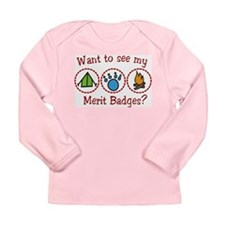 Merit Badges Long Sleeve Infant T-Shirt
