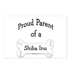Proud Parent of a Shiba Inu Postcards (Package of