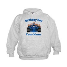 Birthday Boy Car Hoodie