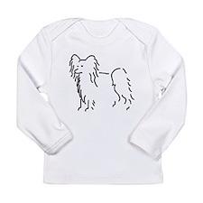 Papillon Sketch II Long Sleeve Infant T-Shirt