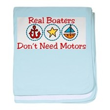 Real Boaters baby blanket