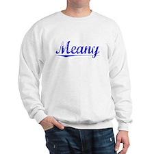 Meany, Blue, Aged Sweatshirt