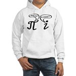 Think real be rational Hooded Sweatshirt