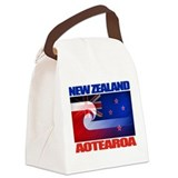 NZ-Aotearoa Flag.png Canvas Lunch Bag