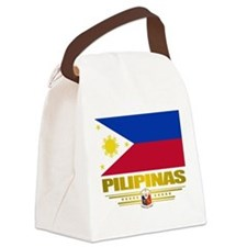 Philippines (Flag 10) 2.png Canvas Lunch Bag