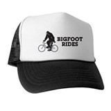 Bigfoot Rides Trucker Hat