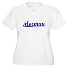 Morman, Blue, Aged T-Shirt