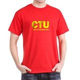 CTU Counter Terrorist Unit Jack Black T-Shirt