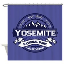Yosemite Midnight Shower Curtain