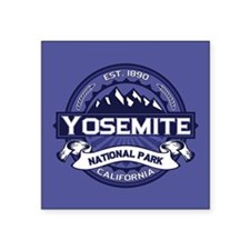 "Yosemite Midnight Square Sticker 3"" x 3"""