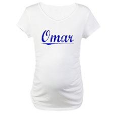 Omar, Blue, Aged Shirt