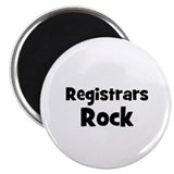 "REGISTRARS Rock 2.25"" Magnet (10 pack)"