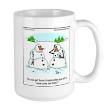 Snowman gets brain freeze Mug
