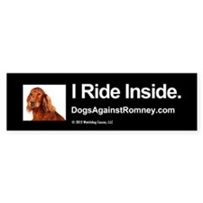 Bumper Bumper Sticker (Irish Setter) Bumper Bumper Sticker