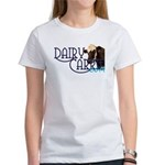 Dairy Carrie logo with Norma. Eat More Cheese