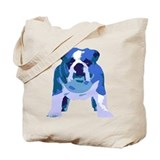 English Bulldog Pop Art Tote Bag