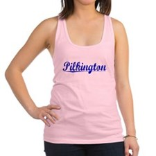 Pilkington, Blue, Aged Racerback Tank Top