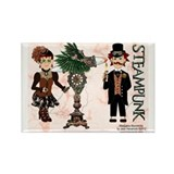 Marijuana Munchkins SteamPunk Rectangle Magnet