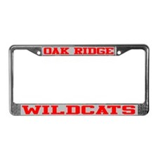 Oak Ridge License Plate Frame