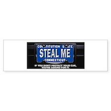 Steal My Conneticut Car Bumper Sticker