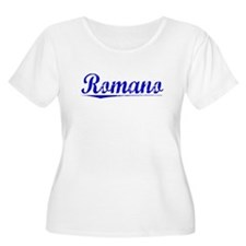 Romano, Blue, Aged T-Shirt