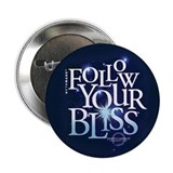 "Follow Your Bliss Starry 2.25"" Button"