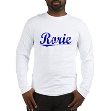 Rorie, Blue, Aged Long Sleeve T-Shirt