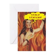 Hot Flash Greeting Cards (Pk of 10)