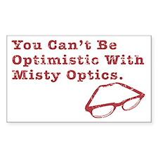 Misty Optics Rectangle Decal