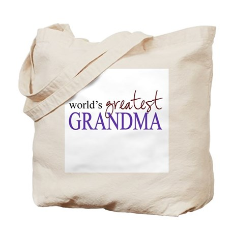 World's Greatest Grandma Tote Bag