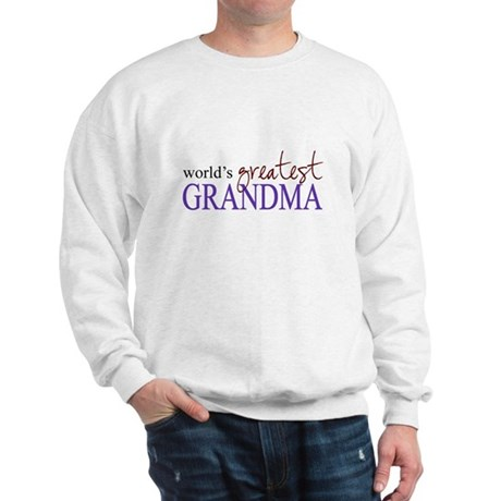 World's Greatest Grandma Sweatshirt