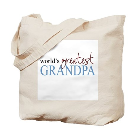World's Greatest Grandpa Tote Bag
