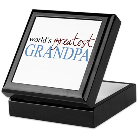 World's Greatest Grandpa Keepsake Box
