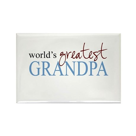 World's Greatest Grandpa Rectangle Magnet (100 pac
